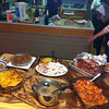 The CSUN Rugby House Thanksgiving spread.  Not bad for a bunch of ruggers.  :-)