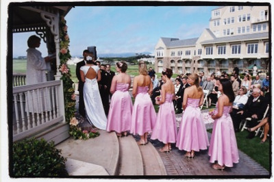 Beautiful Larger Wedding at the Ritz in Half Moon Bay.