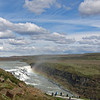 June 22, 2013.  Sky above Gullfoss Falls, Iceland.