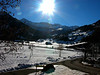 Sun, Mountains, and Snow in Lenk,Switzerland