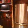 """""""TV room"""" right next to kitchen"""