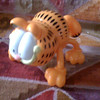 Item # ; THE RIVAL COMPANY; mini; Garfield massager; battery operate; PHP375<br /> <br /> Taken with SmugShot on my iPhone