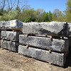 Salvaged Granite Foundation Blocks from Fall River - Stone Farm