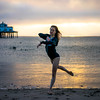 Sunrise Ballet Malibu Pier! Sony A7R RAW Professional Dancer Ballerina Goddess Photos! Pretty, Tall Ballet Model Goddess! Carl Zeiss Sony FE 55mm F1.8 ZA Sonnar T* Lens! Lightroom 5.7