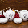 Eilong Porcelain Set - Black and White-3