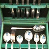 Clean set of silverplate
