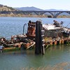 Old ship wreck