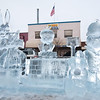 Winterfest Ice Carving Entry - Bugs Bunny and Friends (Sy Stepanov)