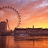 Sunrise London Eye