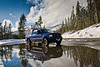 Snowy Reflections in Yellowstone Winter - Photo by Pat Bonish