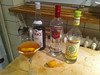 We're running a little short of cocktail ingredients ... Pimms Cosmo was delicious though
