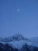 086 Moon Over the Aiguille