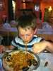 Spaghetti Frutti de Mare was the favourite dish of the whole holiday
