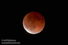 The moon starting to exit total eclipse (4/15/2014) TAMRON SP 150-600mm F/5-6.3 Di VC USD A011 @ 600mm f6.3 1/4s ISO2500