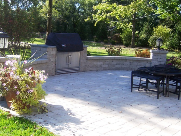 Outdoor Porch and Masonry Project - Glenview, IL