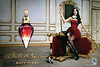 KATY PERRY Killer Queen 2013 UK spread (handbag size format) 'A new fragrance by Katy Perry - Own the throne''