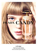 PRADA Candy Eau de Toilette 2013 Italy spread  'The new Eau de Toilette - Discover the film on prada. com/candy''  MODEL: Léa Seydoux (actress, France), PHOTO: Jean-Paul Goude