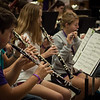Wind Ensemble Rehearsal at the LSU Honors Chamber Wind Camp 2012, led by Donald McKinney.