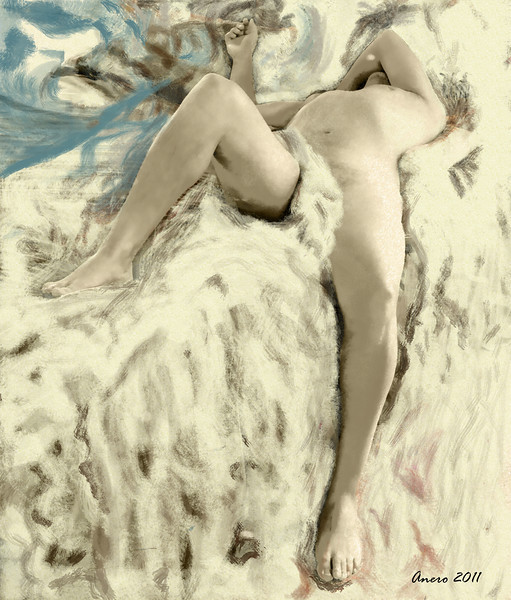 dreaming - reclining male