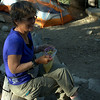 Cat Dog, from Bend and worked at REI. One of the few middle-aged women we met hiking solo.