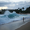 APRIL 4 2013 The wave at Makaha Beach, Sorry not much for commenting getting off a 31hr shift.
