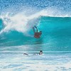DEC 19 2014<br /> Body Boarding, Yoke's Beach, Oahu