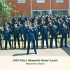 1993 HONOR GUARD AT OREGON POLICE ACAD
