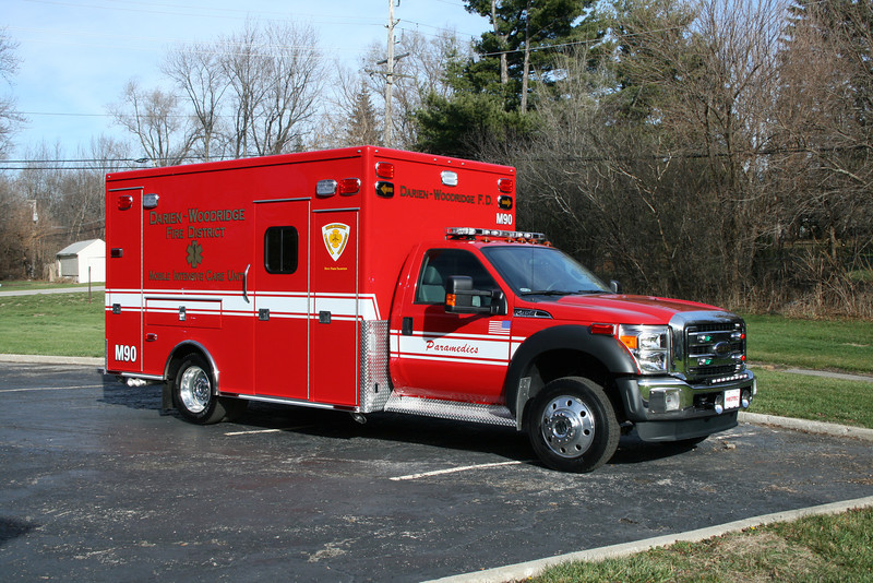 DARIEN WOODRIDGE MEDIC 90