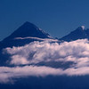 Mount Everest Above the Clouds