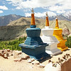 Colorful Stupas
