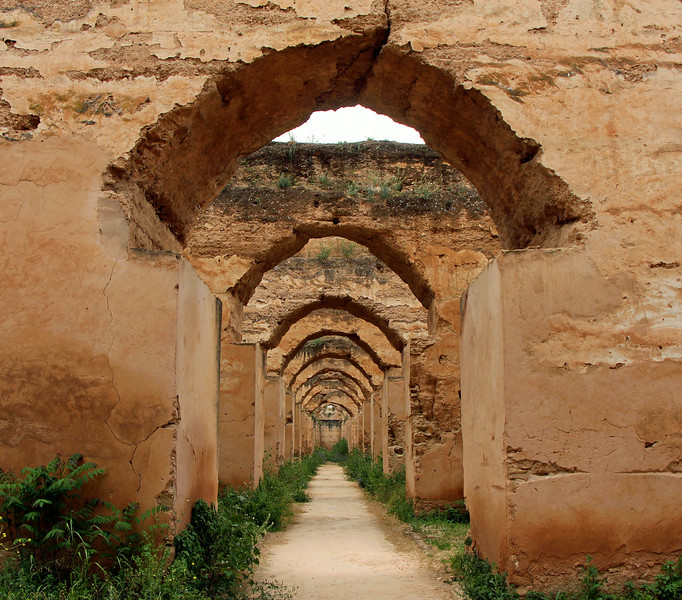 Stables of Moulay Ismail