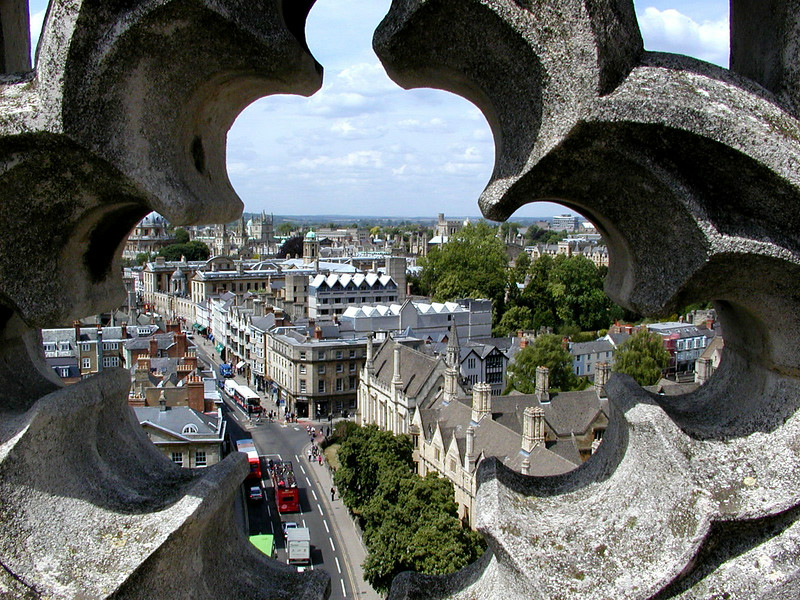 High Street from Magdalen Tower