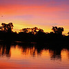 Pantanal Sunset Reflections