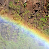 Rainbow by Iguazu Falls