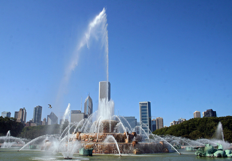 Millenium Park Fountain