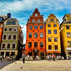 STOCKHOLM STORTORGET........the SQUARE at the heart of GAMLA STAN
