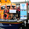 Image features Mary Browne, (HUG and ex RNLI Dún Laoghaire Lifeboat Crewmember, Mark McGibney, Coxswain, RNLI Dún Laoghaire,  Rita O'Reilly, Secretary RNLI Dún Laoghaire Fundraising, Barry Keane, and John Devine, both HUG.<br /> Photograph: Margaret Brown<br /> <br /> HUG (Hope U Give - dlr Staff Charity) presented a cheque for €5,000 to the RNLI Dún Laoghaire at the lifeboat station on Wednesday 03 December 2014 at 10am.<br /> <br /> For further information contact John Murphy, dlr HUG, 086.8098457