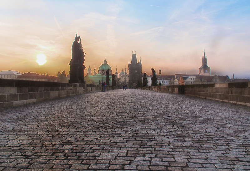 St. Charles Bridge Dawn