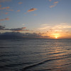 Sunset on the beach - Lahaina, Hawaii