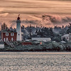 winter morning @ Fisgard lighthouse, Victoria BC