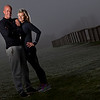 Outdoor portrait of two personal fitness instructors in Surrey