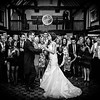 Bride and groom's first dance at the Burford Bridge