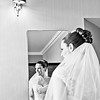 Bride getting ready at The Beaumont Estate in Windsor