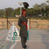 Pakistani Ranger at the Wagah border.