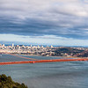 Golden Gate Day Panorama San Francisco, CA
