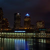 Tampa, Fl - Night Panorama - Blue Hour almost gone...