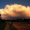 Storm over Wylie, TX