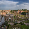 Panorama of the Forum, Rome, Italy