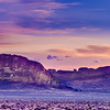 Fort Rock Sunrise Panoramic