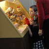 Creche Festival featuring Saint Nicholas and Santa Claus at Rochester's Sacred Heart Cathedral.